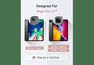 INATECK Tastatur Hülle für iPad Pro 11 2021/2020/2018(1&2&3 Gen) ,abnehmbar, mit DIY Hintergrundbeleuchtung, iPad Tastatur