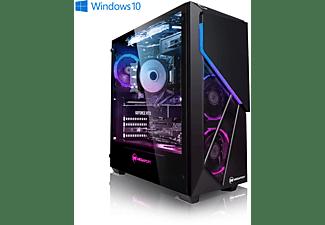 MEGAPORT Gaming PC Intel i7 10700K, Gaming PC, 16 GB RAM, 2000 GB SSD, 1000 GB, NVIDIA GeForce RTX 3080, 10 GB