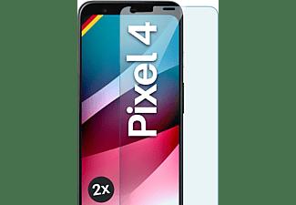 MOEX 2x Panzerglas - Schutzfolie, klar Display Schutzglas(für Google Pixel 4)