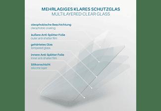 MOEX 2x Panzerglas - Schutzfolie, klar Display Schutzglas(für Google Pixel 3a)