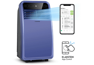 KLARSTEIN Metrobreeze New York Smart 7k Klimaanlage Blue Lilac (Max. Raumgröße: 34 m², EEK: A)