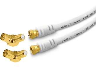 ARLI 2m TV Winkel max. 135dB Antennenkabel