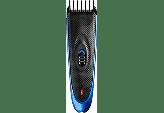ECG ZS 1520CC | 9 Schnittlängen 4 - 16 mm | Rostfreier Stahl | Haarschneider Schwarz/Hellblau