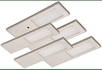 ROLUX LEUCHTEN 5er Set Küchenleuchte 'DF-1817' je 3,5 W mit dimmbarer IR-Sensorschalter LED Unterbauleuchte warmweiß