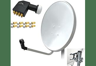ARLI Satelliten Set Sat Anlage (60 cm, Octo LNB)