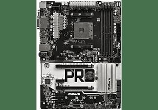 ASROCK X370 Pro4 (AM4) (D) Mainboards schwarz-weiß