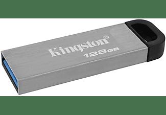 KINGSTON Pendrive DT USB 3.0 USB-Stick 128 GB USB Stick (Schwarz, 128 GB)