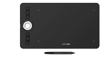 XP PEN DECO 02 Grafiktablett Schwarz