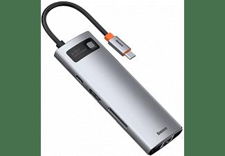 BASEUS HUB USB, USB Hubs, Silber