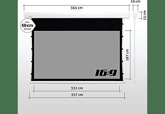 "ESMART Expert XTR Tageslicht Tension GRAU 332 x 187 cm (150"") 16:9 Tension-Leinwand"