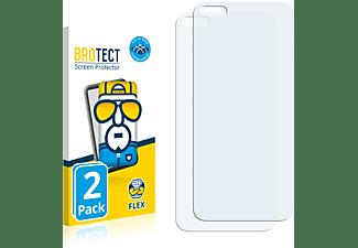 BROTECT 2x Flex Full-Cover 3D Curved Schutzfolie(für Huawei P40 Pro)