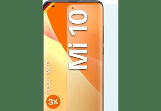 MOEX 3x Schutzfolie, matt Display Schutzfolie(für Xiaomi Mi 10)