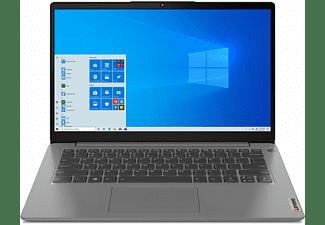 LENOVO IdeaPad 3, fertig eingerichtet, Office 2019 Pro, Notebook mit 14 Zoll Display, 36 GB RAM, 1000 GB SSD, AMD Radeon RX Vega 7, Arctic Grey
