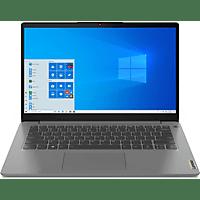LENOVO IdeaPad 3, fertig eingerichtet, Notebook mit 14 Zoll Display, 20 GB RAM, 500 GB SSD, AMD Radeon RX Vega 7, Arctic Grey
