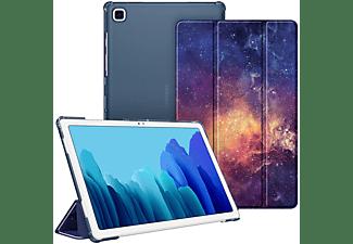 FINTIE Hülle Tablethülle Bookcover für Samsung Galaxy Tab A7 10.4'' 2020 (SM-T500/T505/T507) Kunstleder, Die Galaxie