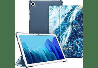 FINTIE Hülle Tablethülle Bookcover für Samsung Galaxy Tab A7 10.4'' 2020 (SM-T500/T505/T507) Kunstleder, Meeresblau