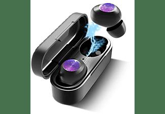 M2-TEC Kopfhörer, In-ear Bluetooth Kopfhörer Bluetooth Schwarz