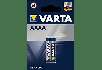 VARTA Electronics AAAA Batterie Mini (2er Blister) AlMn Batterie, AlMn, 1.5 Volt