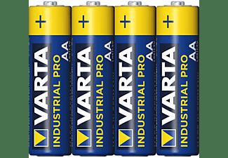 VARTA Industrial Pro Mignon AA Batterie 4006 (4er Folie) AlMn Batterie, AlMn, 1.5 Volt, 2.97 Ah