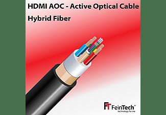 FEINTECH Glasfaser-Hybrid 18Gbps Ultra-HD 4K aktiv 15 m HDMI Kabel