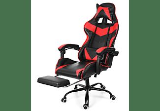 INSMA GS887R Gaming Stuhl, Rot ; schwarz
