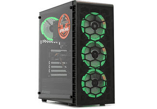 SCREENON X325105, Gaming PC, 16 GB RAM, 240 GB SSD, 1 TB HDD, Nvidia Geforce GTX 1650