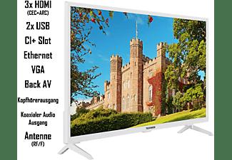 TELEFUNKEN XF32J519D-W LED TV (Flat, 32 Zoll / 80 cm, Full-HD, SMART TV)