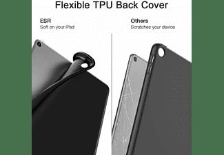 COFI Tablet Tasche mit Stifthalter Tablethülle Bookcover für Apple Kunstleder, Schwarz