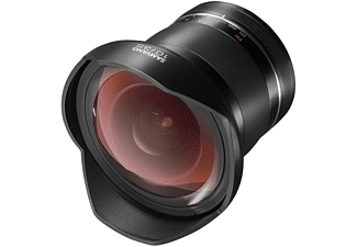 SAMYANG XP 10mm F3,5 Nikon F 1:3,5 (Objektiv für Nikon F-Mount, Schwarz)