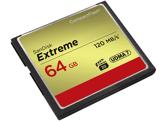 Carte mémoire CompactFlash CF