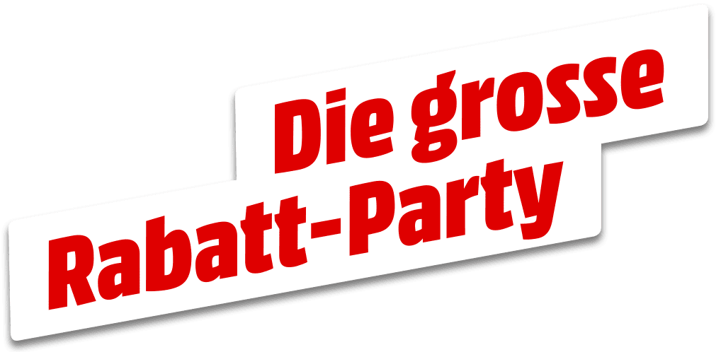 Die grosse Rabatt-Party
