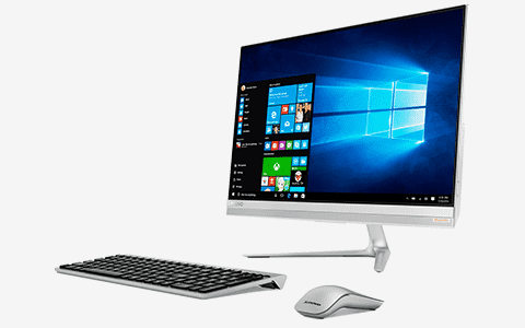 Lenovo All-in-one pc's