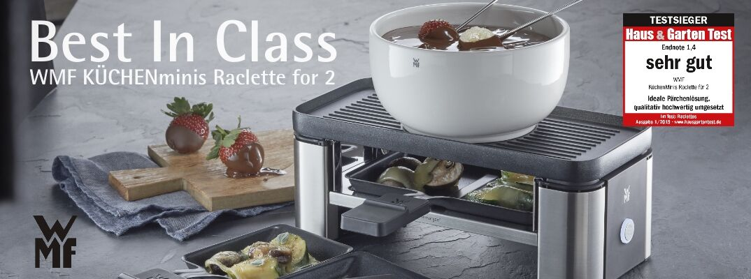 Best In Class - WMF KÜCHENminis Raclette for 2