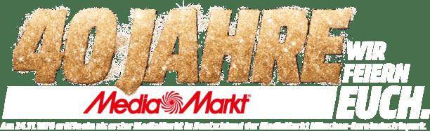 40 Jahre MediaMarkt. Wir feiern euch.