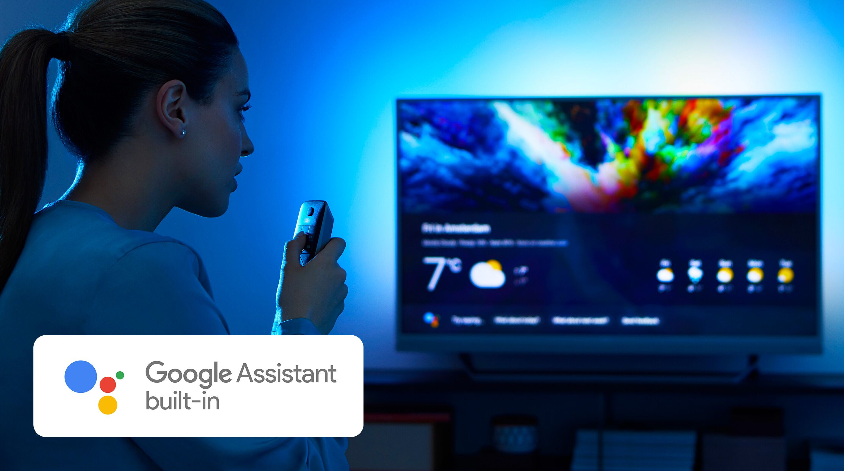 Philips OLED 903 Google assistant