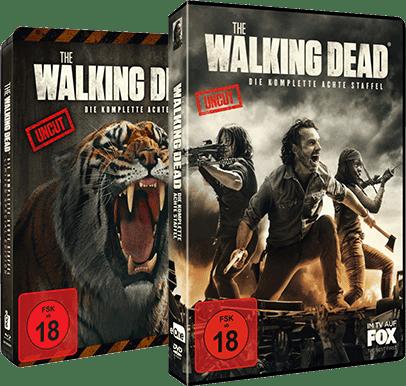 The Walking Dead Alle Staffeln Auf Dvd Und Blu Ray Media