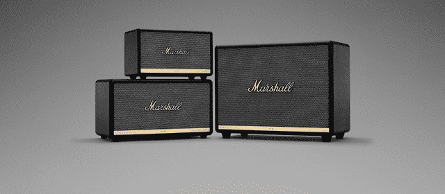 Marshall Portable speakers