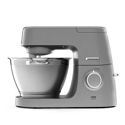 KENWOOD KVC 5391 S Chef Elite Küchenmaschine inkl. 6 Zubehörteile  Grau/Edelstahl 1200 Watt