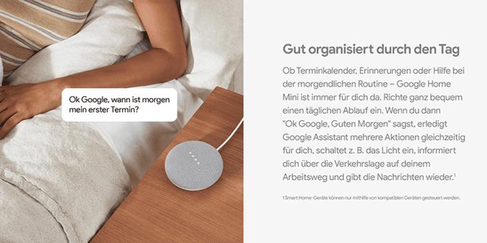 Google Home Mini Smart Speaker Wlan Bluetooth