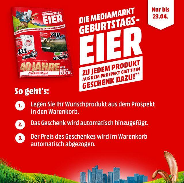 Die MediaMarkt Geburtstags Eier!