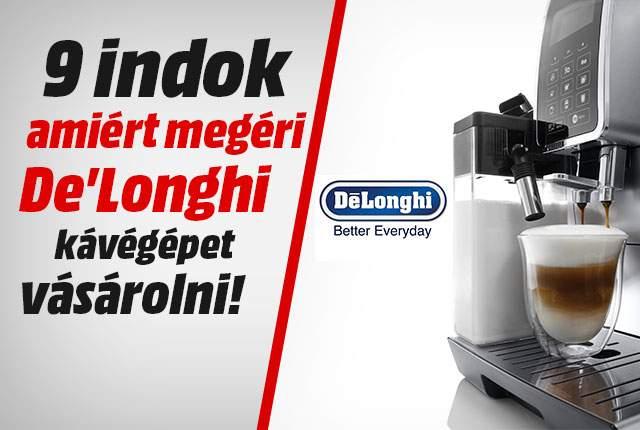 Delonghi Magnifica Eco 2015 Automata kávégép.