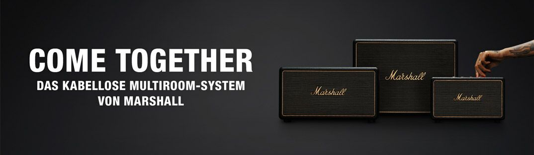 Come Together - Das kabellose Multiroom-System von Marshall