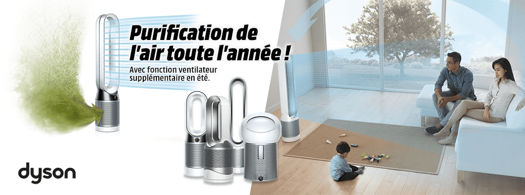 Dyson purificateurs d'air