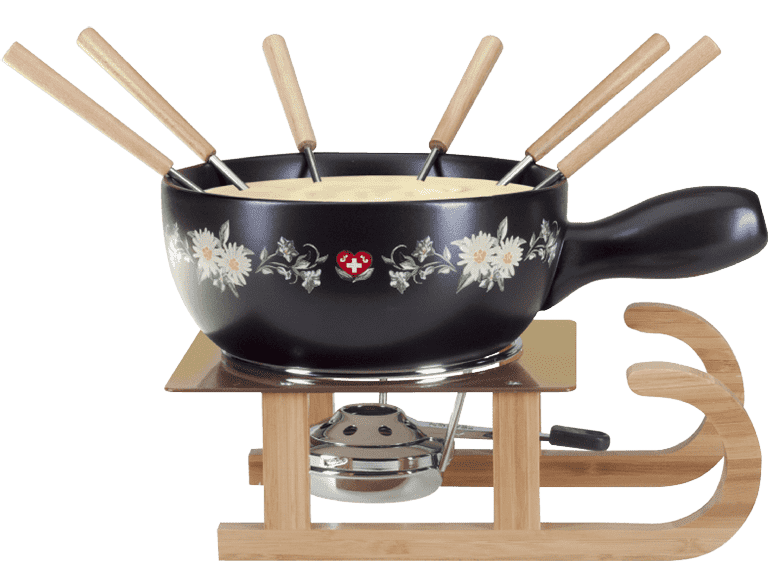 Fondue traditionell