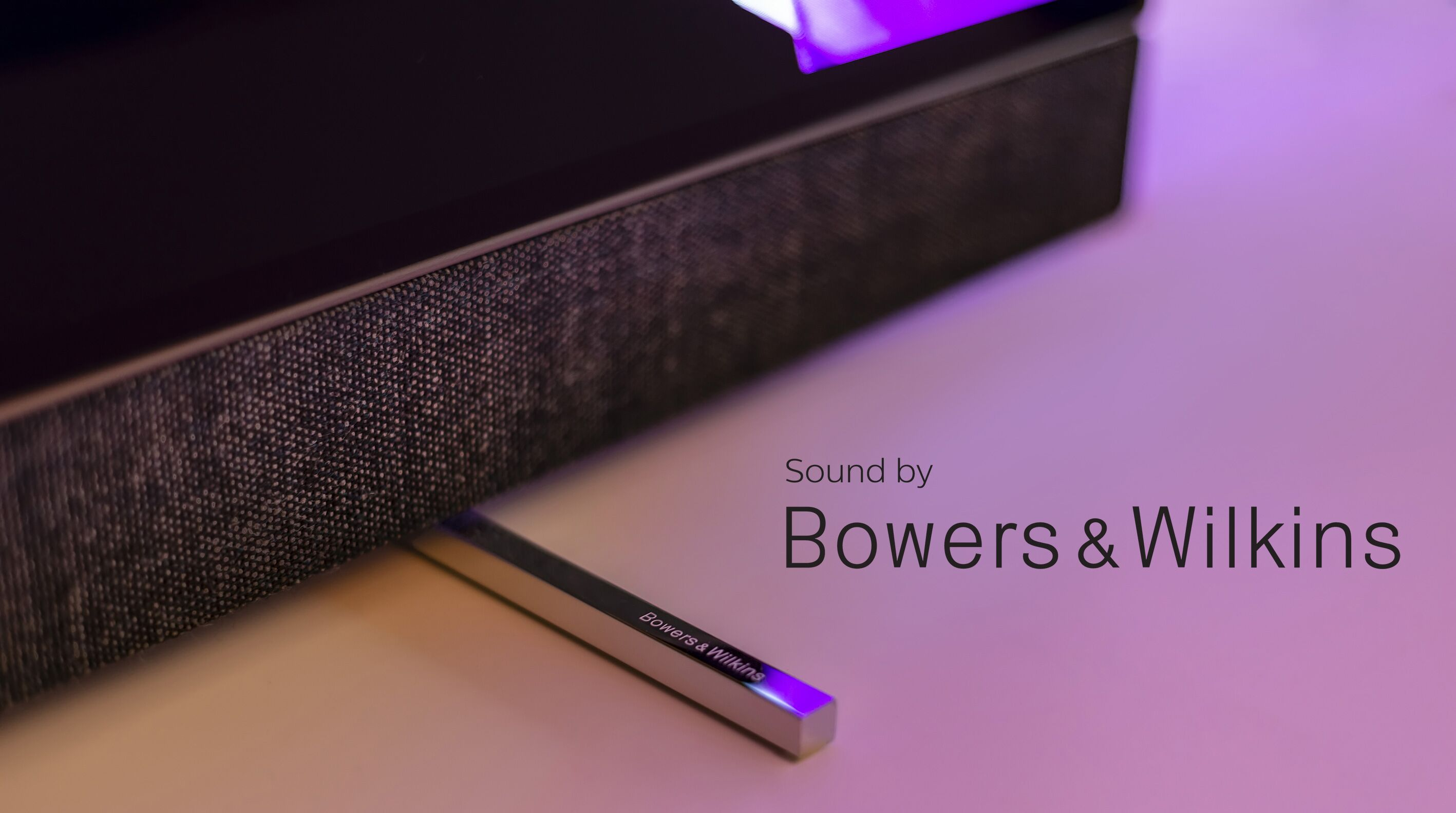 Philips OLED 903 Sound by Bowers & Wilkins