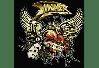 Sinner - Crash & Burn (Ltd.Ed.)  - (CD EXTRA/Enhanced)