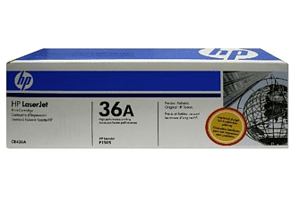 Tóner - HP 35A LaserJet, Negro, CB435A