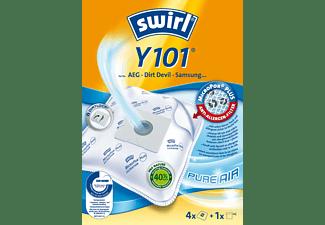 4  Staubsaugerbeutel Swirl Y101 für Severin SB 9017