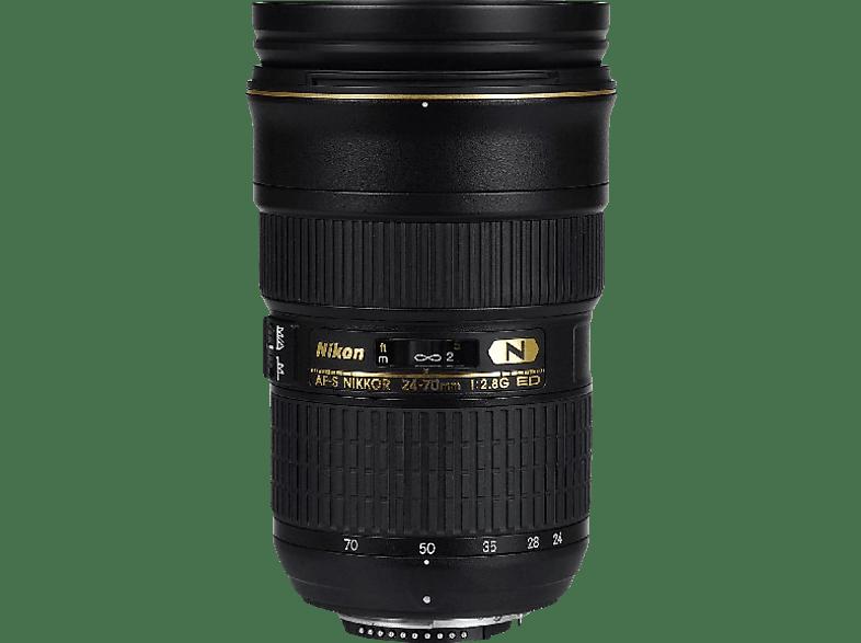 NIKON 24 mm-70 mm f/2.8 AF-S, ED, N (Objektiv für Nikon F-Mount, Schwarz)