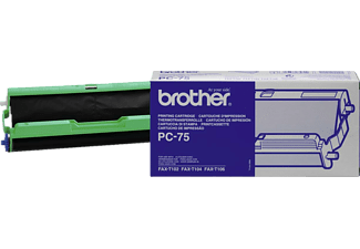 BROTHER PC75 - Rotolo a trasferimento termico (Nero)